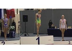 Gimnastımız bürünc medal qazandı