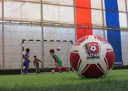 Azfar uşaq və gənclər futbol məktəbinin ilk addımları - VİDEO - FOTO