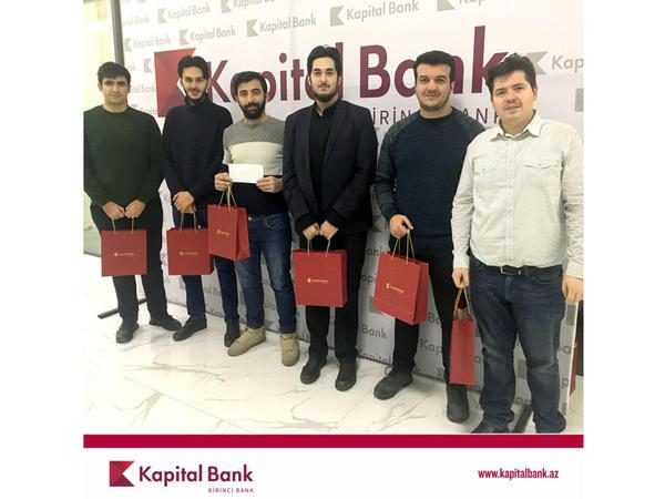 """Kapital Bank """"Breyn Rinq""""in qalib komandasını mükafatlandırdı"""