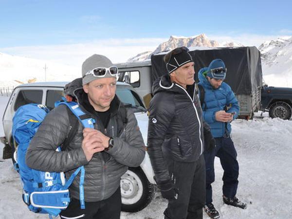 Avstriyalı mütəxəssislər alpinistlərin axtarışlarını dayandırdılar - FOTO