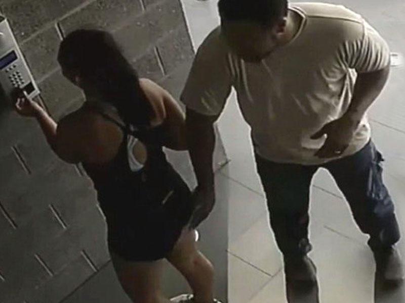 2 uşaq anasına qarşı əxlaqsızlıq hərəkətləri kameraya düşdü -