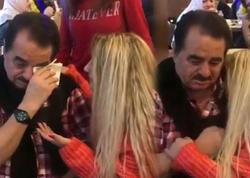 Azərbaycanlı müğənni İbrahim Tatlısəsi ağlatdı - VIDEO - FOTO