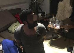 Tanınmış kriminal avtoritet alt paltarında tutuldu - VİDEO