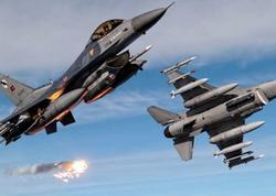 Türkiyə hərbi aviasiyası Suriyadakı mövqeləri bombalamağa başladı
