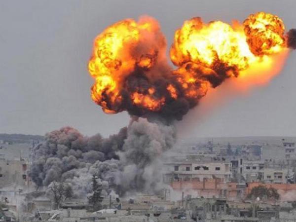 Afrini bombalayan təyyarələr bazaya qayıdıb