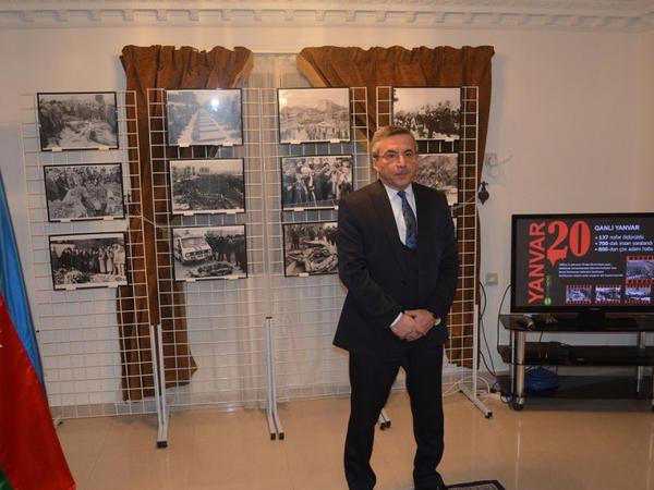20 Yanvar şəhidlərinin əziz xatirəsi Ər-Riyadda yad olunub - FOTO