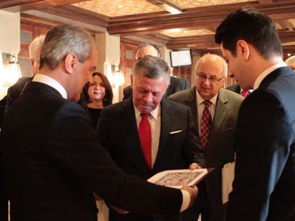 Nazim İbrahimov İordaniya kralı ilə görüşüb - FOTO