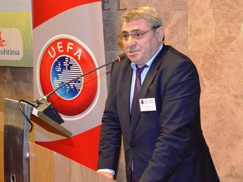 Kosovo Futbol Federasiyasının prezidenti Azərbaycan yığmasını təriflədi