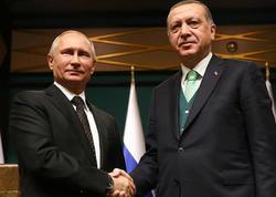 Ərdoğan və Putin Afrin məsələsini müzakirə etdilər