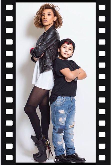 Röya oğlu ilə FOTOSSESİYA etdirdi