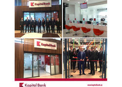 Kapital Bank-ın yeni Bravo-2 filialı istifadəyə verildi