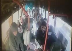 """Avtobus sürücüsündən şəhid anasına qarşı TƏRBİYƏSİZLİK - <span class=""""color_red"""">Kameraya düşdü - FOTO</span>"""