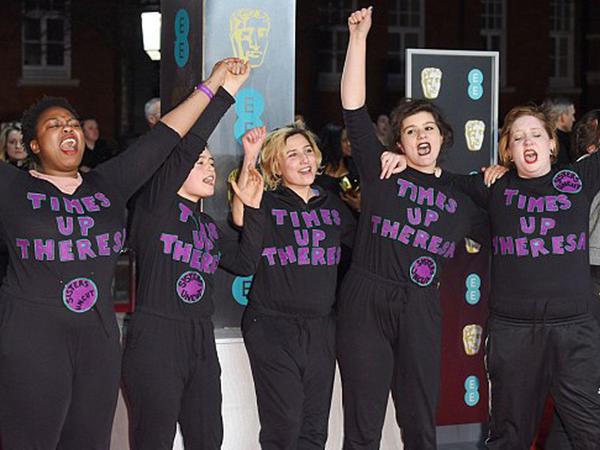 BAFTA mərasimində qadın etirazı - VİDEO - FOTO