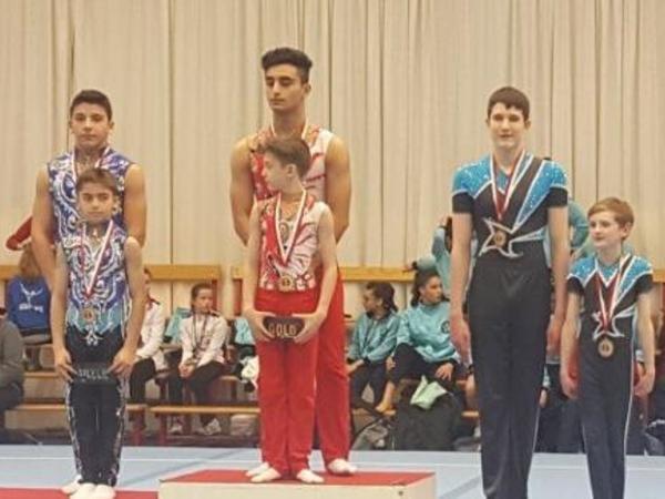 Azərbaycanın akrobatika gimnastları Belçikada qızıl medal qazanıblar