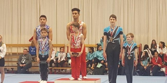 Gimnastlarımız Belçikada ən yüksək əyarlı medal qazandı