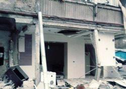 Yerevanda yaşayış binasında PARTLAYIŞ - FOTO