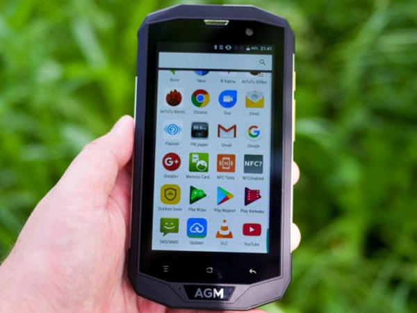 Bu da sındırılması mümkün olmayan smartfon...