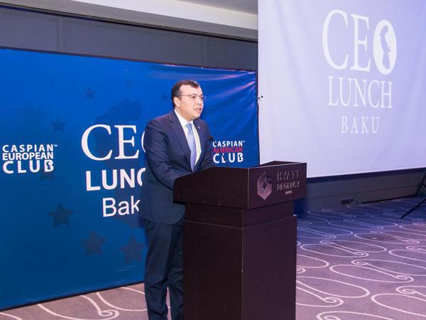 """""""Azərbaycanda biznes üçün hər cür şərait yaradılıb"""""""