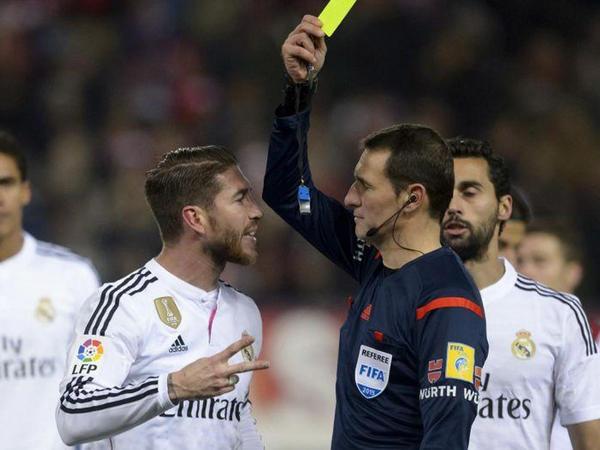 Ramos sarı kartların sayına görə rekord vurub