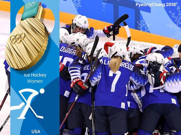 ABŞ hokkeyçiləri Qış Olimpiya Oyunlarının qalibi olub