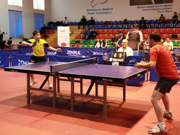 Stolüstü tennis üzrə Azərbaycan çempionatı başa çatıb - FOTO