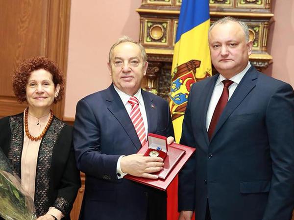 Hülusi Kılıç Moldovada diplomatik missiyasını başa vurur - FOTO