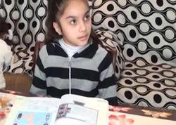 Qeyri-adi bacarığı olan uşaq - Azərbaycanda - VİDEO