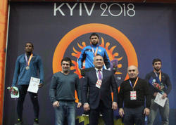 Yığmamız Kievdə 19 medal qazandı - FOTO