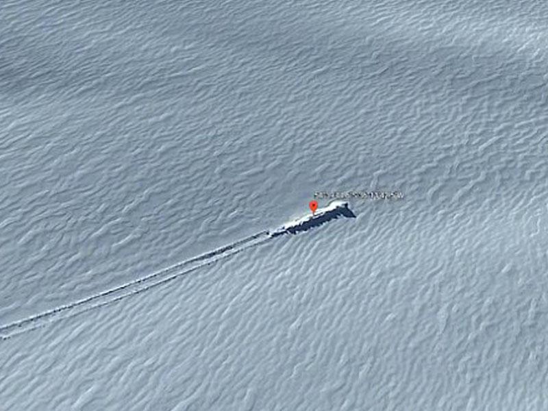 Antarktidada yadplanetlilərin gəmisi tapıldı?
