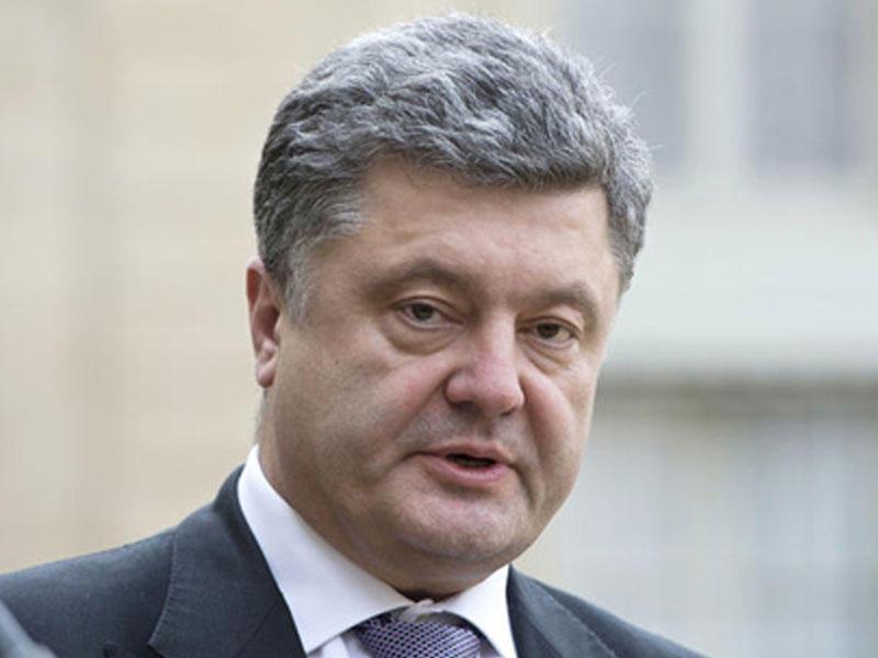 Petro Poroşenko Prezident İlham Əliyevə başsağlığı verib