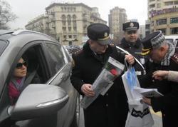 Yol polisi qadın sürücüləri mükafatlandıracaq - FOTO