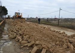 Bakının iki böyük qəsəbəsi arasında yeni yol salınır - FOTO
