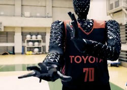 Robot basketbolçu yaradılıb - VİDEO