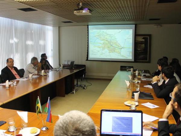 Braziliyada Azərbaycan - Qoyas Biznes Forumu keçirilib - FOTO