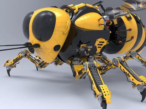 Robot-arılar bitkiləri tozlandıracaq