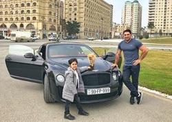 Kamil özünə Bentley aldı - FOTO