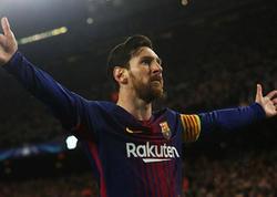 Messi mövsümün 25-ci qolunu vurdu