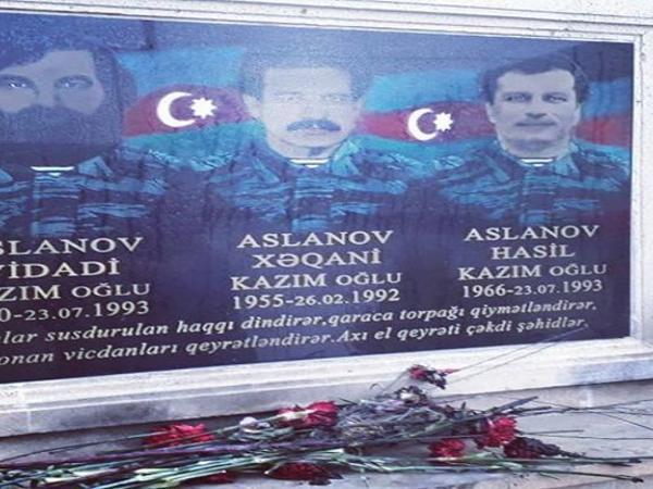 Bakıda şəhid lövhəsi təhqir olundu - FOTO