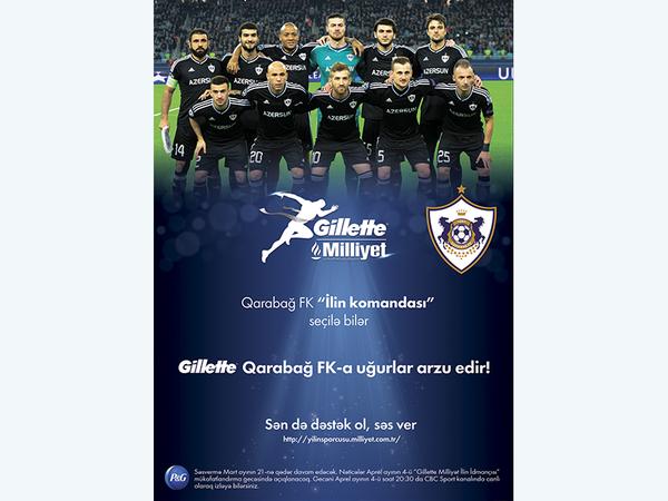Gillette – Milliyet İlin İdmançısı Mükafatlarına namizədlər arasına Qarabağ FK-nın adı düşdü