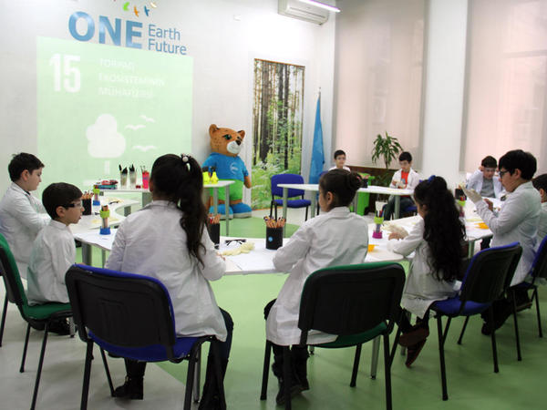 IDEA uşaqlar üçün ekoloji laboratoriya - mart təlimi keçirib - FOTO
