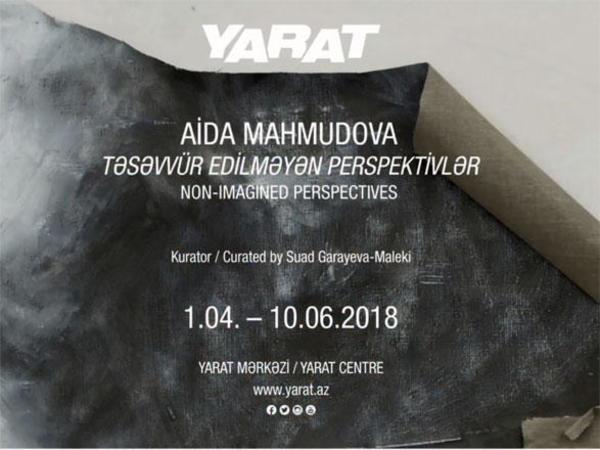 YARAT Aida Mahmudovanın və Mikelancelo Pistolettonun fərdi sərgisini təqdim edir