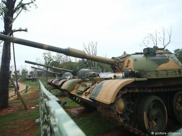 Çin pilotsuz tankları sınaqdan keçirməyə başlayıb