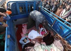 Məktəbdən evə gələn uşaqlar dağıntıların altında qalıb öldülər - FOTO