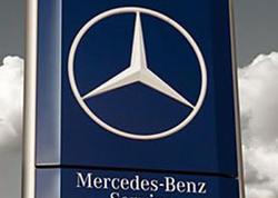 Mercedes 12 min avtomobili geri çağırır