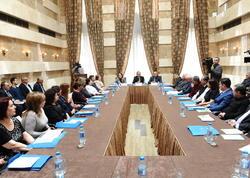 Mərkəzi Seçki Komissiyası Səhiyyə Nazirliyi ilə birgə seminar-müşavirə keçirib - FOTO