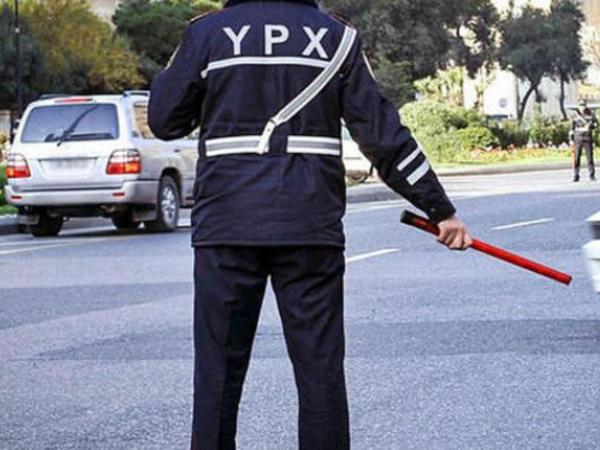 Bakıda yol polisləri soyğunçunu yaxaladı