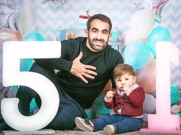 Rafael Ağayevin 1 yaşlı oğlu - FOTO