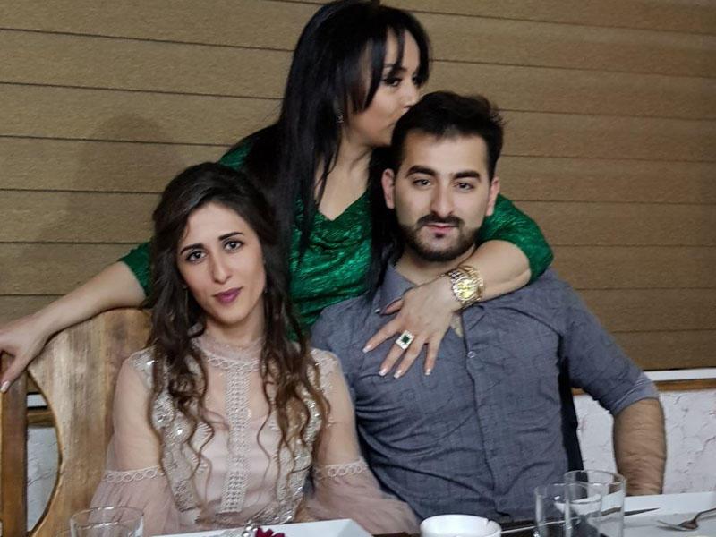 Azərbaycanlı aktrisa oğlunu nişanladı - FOTO
