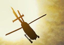 Baltik dənizində helikopter qəzaya uğradı