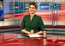 """Azərbaycanlı teleaparıcı: """"Həyat yoldaşım məni televiziyada görüb bəyənmişdi, lakin..."""" - FOTO"""